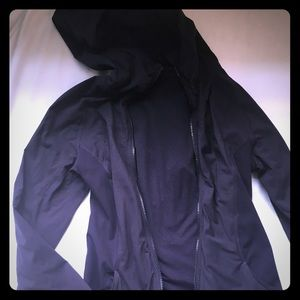 Navy Blue Reversible Lulu Lemon Jacket
